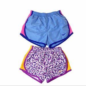 Nike lined shorts bundle